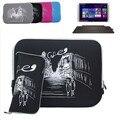Para HP Spectre x360 / dividir x2 / ENVY x2 / pabellón 13 13.3 '' Laptop Bag manga del cuaderno delgado neopreno caso de la piel