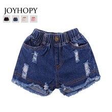 2547c4225 Baby shorts jeans Hot design summer cotton Teenage children's shorts kids  denim shorts for girls Boys clothes girl clothing