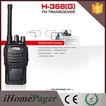 2pcs HT-368(G) Dual Band VHF 2 Way Intercom System Radio Transceiver Interphone Talkie Walkie