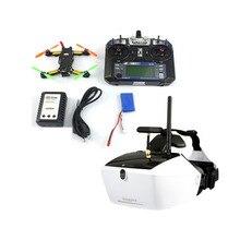 5.8G 40CH FPV 2.4G 6CH RC Mini Racer Quadcopter Drone Tarot 130 RTF Full Set TL130H1 Walkera Goggle 4 520TVL Camera F17840-F