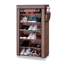 7 Layers Shoes Rack Cabinet Dustproof Moistureproof Large Capacity Shoes Storage Shelf Shoe Hanger Organization Space Saving стоимость