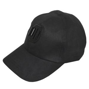 Image 1 - Kaliou chapeau de soleil extérieur casquette de Baseball monture pour support pour GoPro 6 5 4 3 2 1 SJCAM SJ4000 SJ5000 accessoires de caméra daction