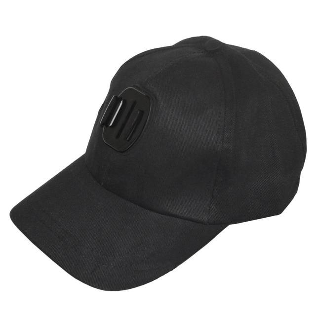 Kaliou chapeau de soleil extérieur casquette de Baseball monture pour support pour GoPro 6 5 4 3 2 1 SJCAM SJ4000 SJ5000 accessoires de caméra daction