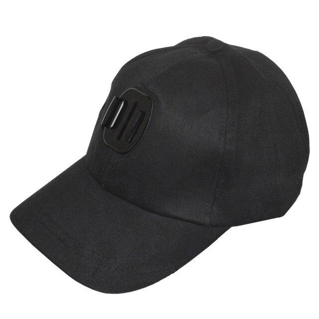 Soporte para gorra de béisbol para exteriores Kaliou para GoPro 6 5 4 3 2 1 SJCAM SJ4000 SJ5000 accesorios para Cámara de Acción