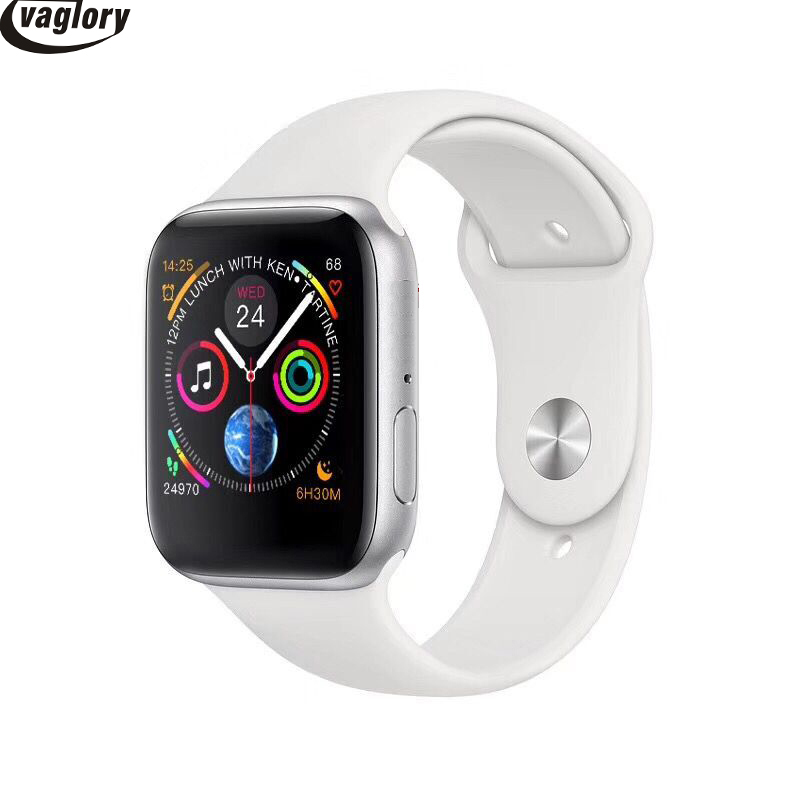 Bluetooth IWO 8 montre intelligente série 4 44mm boîtier 1:1 Smartwatch moniteur de fréquence cardiaque Wisrtwatch pour Huawei Xiaomi Oppo iPhone - 4