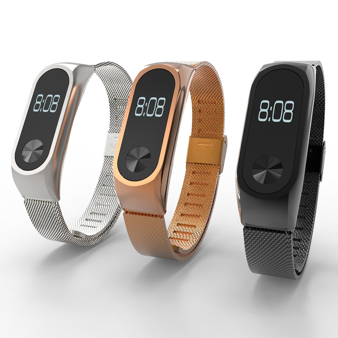 New Fashion High Quality Watch Strap for Xiaomi Mi Band 2 Straps Bracelet for Mi Band 2 Band Miband 2 Wrist Strap Belt