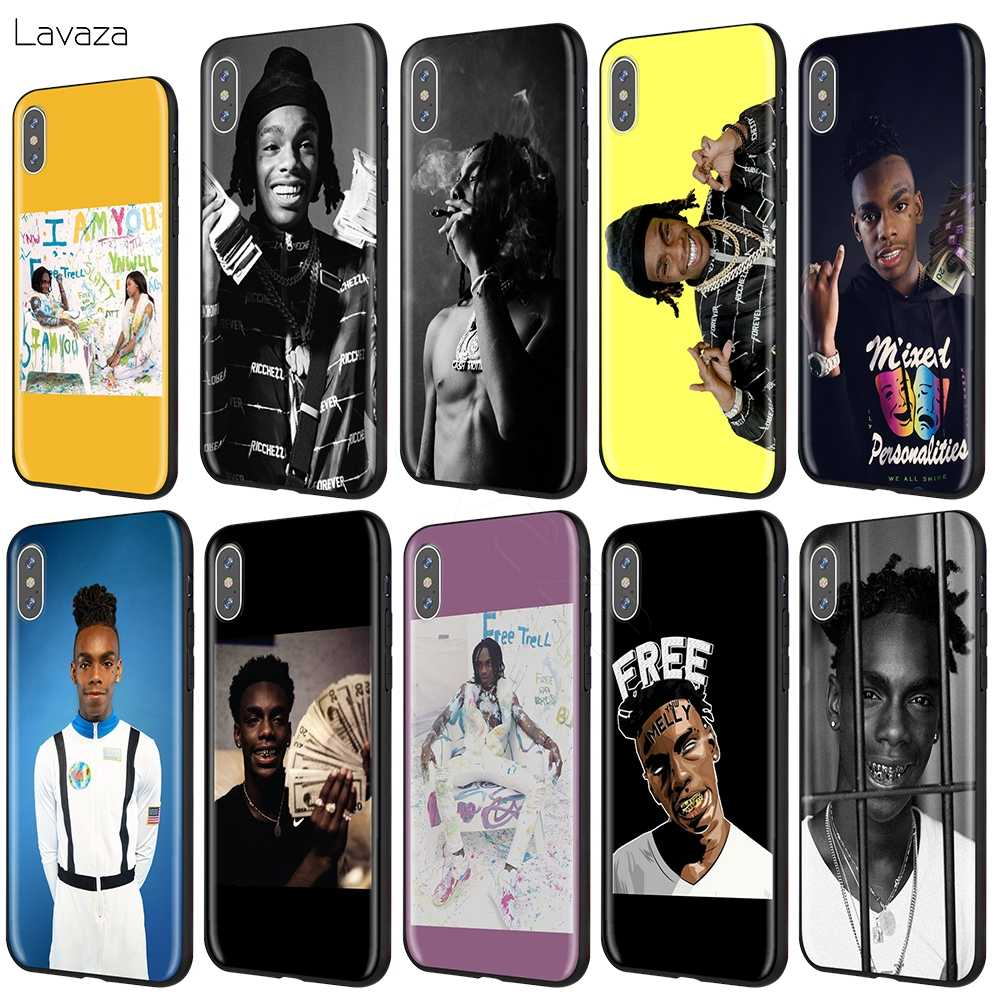 Lavaza Ynw Melly Rapper dành cho iPhone 11 Pro XS Max XR X 8 7 6 6S Plus 5 5 5S SE