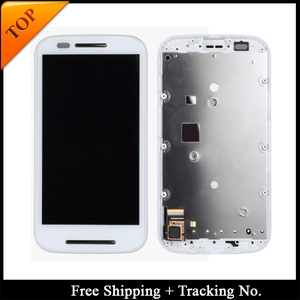 Image 2 - Tracking No. 100% tested For Moto E LCD XT1021 XT1022 XT1025 Display LCD Screen Touch Digitizer Assembly