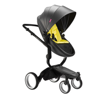 Douxbebe fin fin High Landscape Baby Roller Baby Two way Reclining Folding shock absorber Import Brand strollers