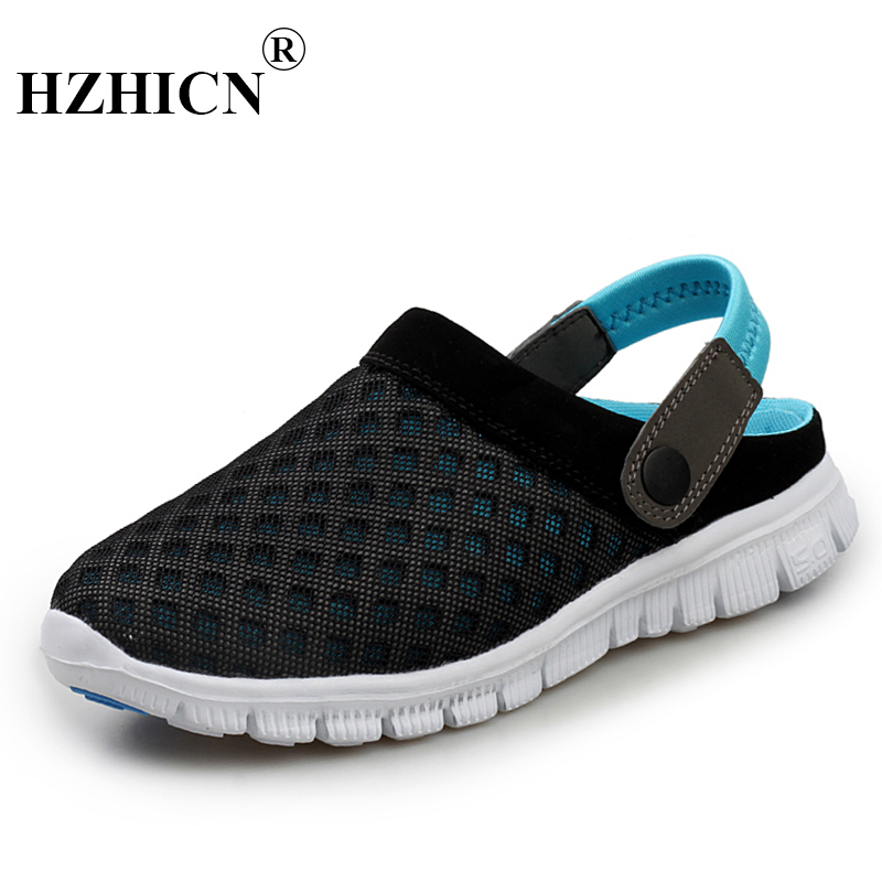 Unisex Summer Sandals Superstar 2018 New Breathable Men Slippers Mesh Lighte Casual Outdoor Slip On Jelly Shoes Beach Flip Flops lanshulan bling glitters slippers 2017 summer flip flops platform shoes woman creepers slip on flats casual wedges gold