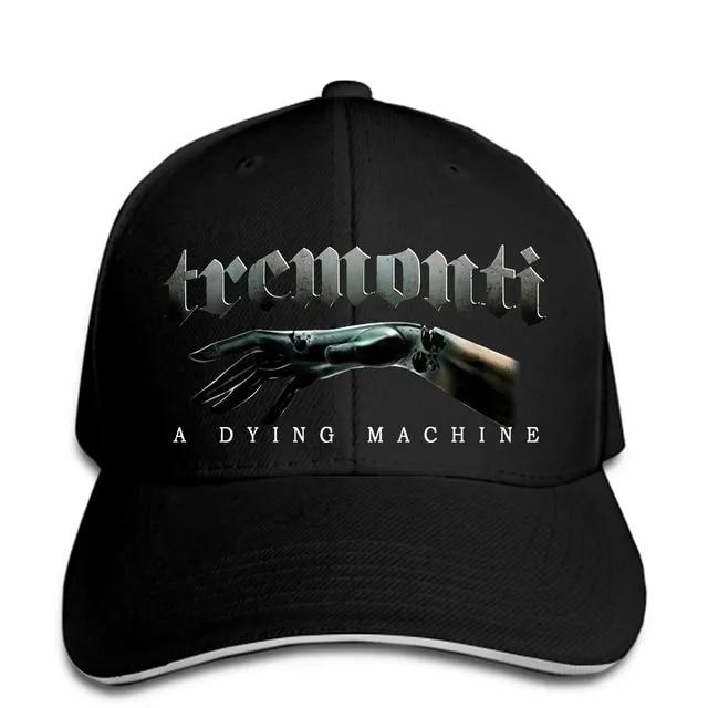 New 665489-Tremonti A Dying Machine Tour Black Men Baseball Cap Snapback Cap Women Hat Peaked