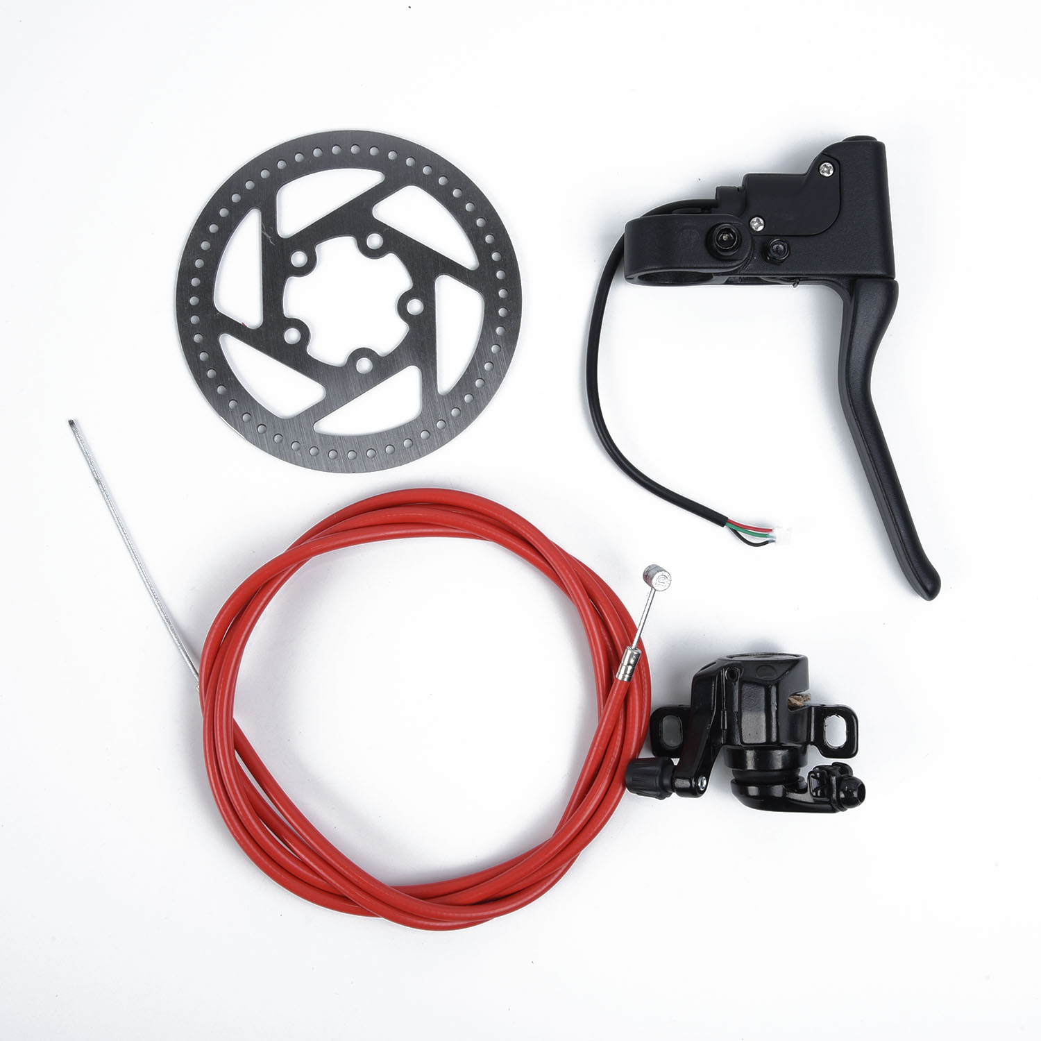 Outdoor Brake Cable Kit For Xiaomi Mijia M365 Brake Lever Disk Break Replacement Electric Scooter Accessories  Parts