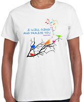 Sing And Praise Christian Cute Jesus Christ T Shirt Gift Ideas T Shirt Tee Printed T