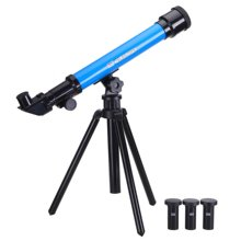 ABWE Best Sale  Educational Toy Scope Learning Toy for Science Kid Astronomy Science Kit Telescope Toy Set for Kids with 3 Eye