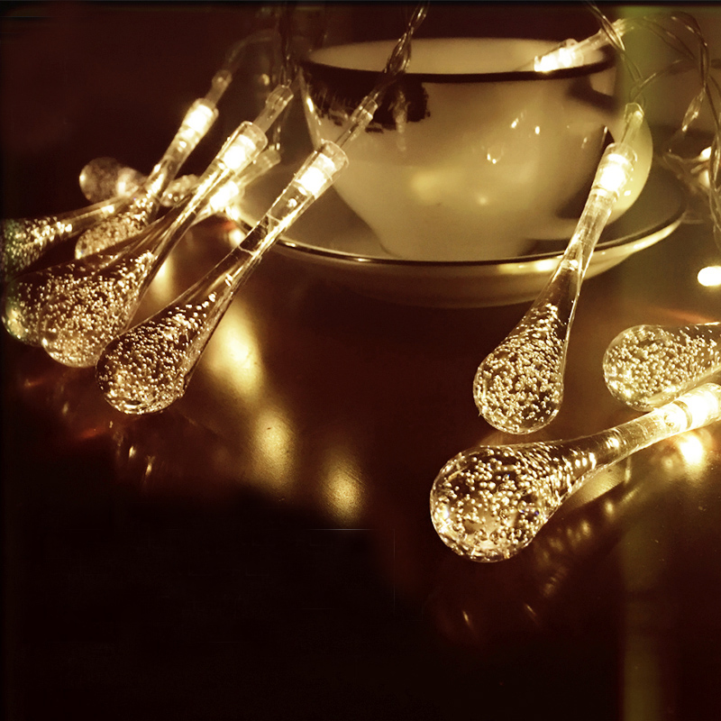 20 Led 4 Color String Fairy Lights Solar Xmas Lights