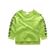 Baby Boys T-shirt Clothes 2017 New Arrival Long Sleeve Kids T-shirts Bobo Choses Autumn Cotton Children Tops Pullover Outwear