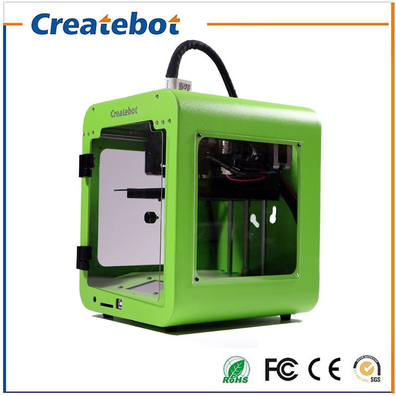 3 D Cheap Createbot 3D Printer Semi-Auto Level Super Mini 3D-Printer Machine Kit With 85*80*94mm Build Size T Screen