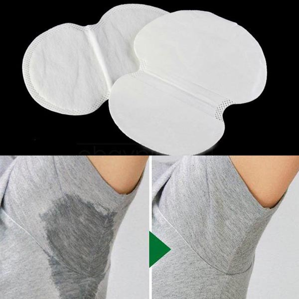 12PCS Disposable Absorbing Underarm Sweat Guard Pads Deodorant Armpit Sheet Dress Clothing Shield Sweat Perspiration Pads que ...