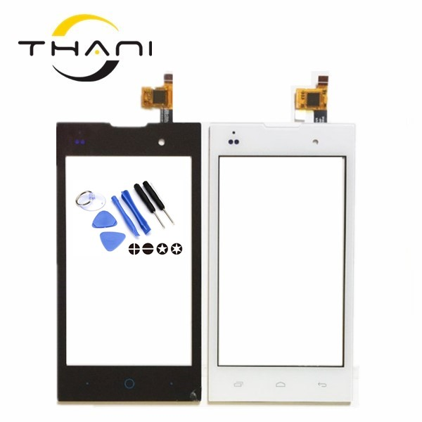 Thani For Fly IQ4418 Era Style 4 IQ 4418 Touch Screen Digitizer Sensor Front Glass Panel Replacement 4.5 For Fly IQ4418+tools