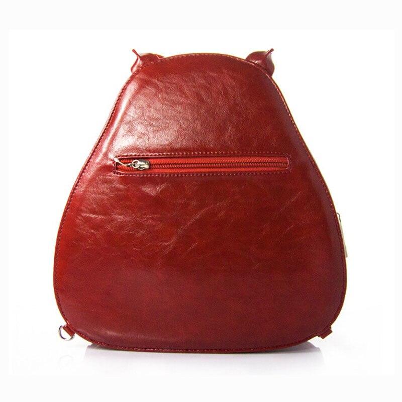 Nouveau dames délicatesse hibou motif Messenger sacs nouveauté qualité Animal forme Unique motif femmes marque conception à la main sacs à main - 4