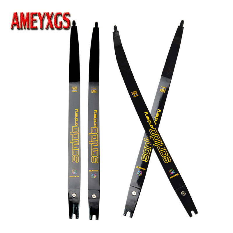 Archery 68inch Recurve Bow Limbs 20lbs Composite Material