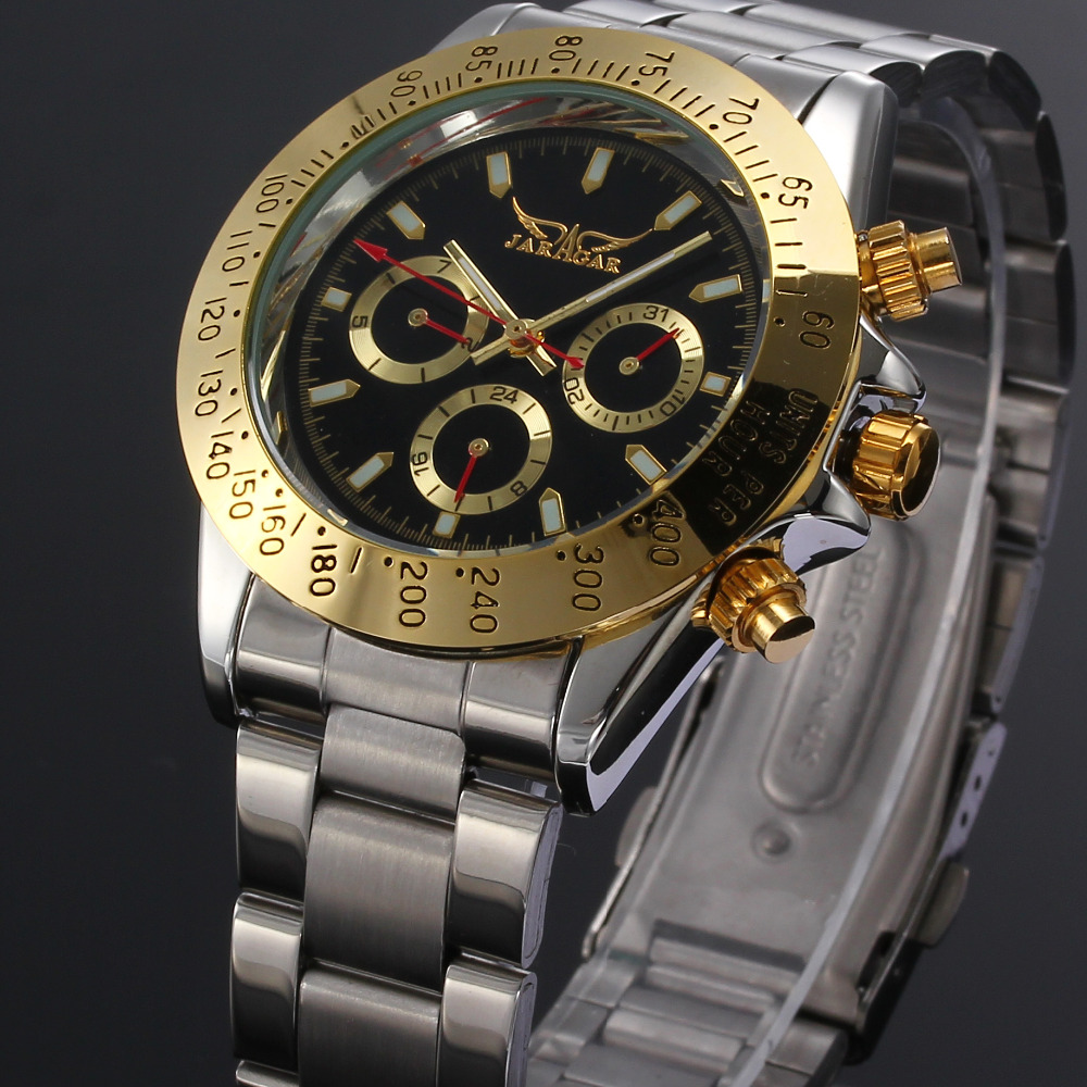 Original Jaragar Automatic Multifunction Mechanical Designer watch 1