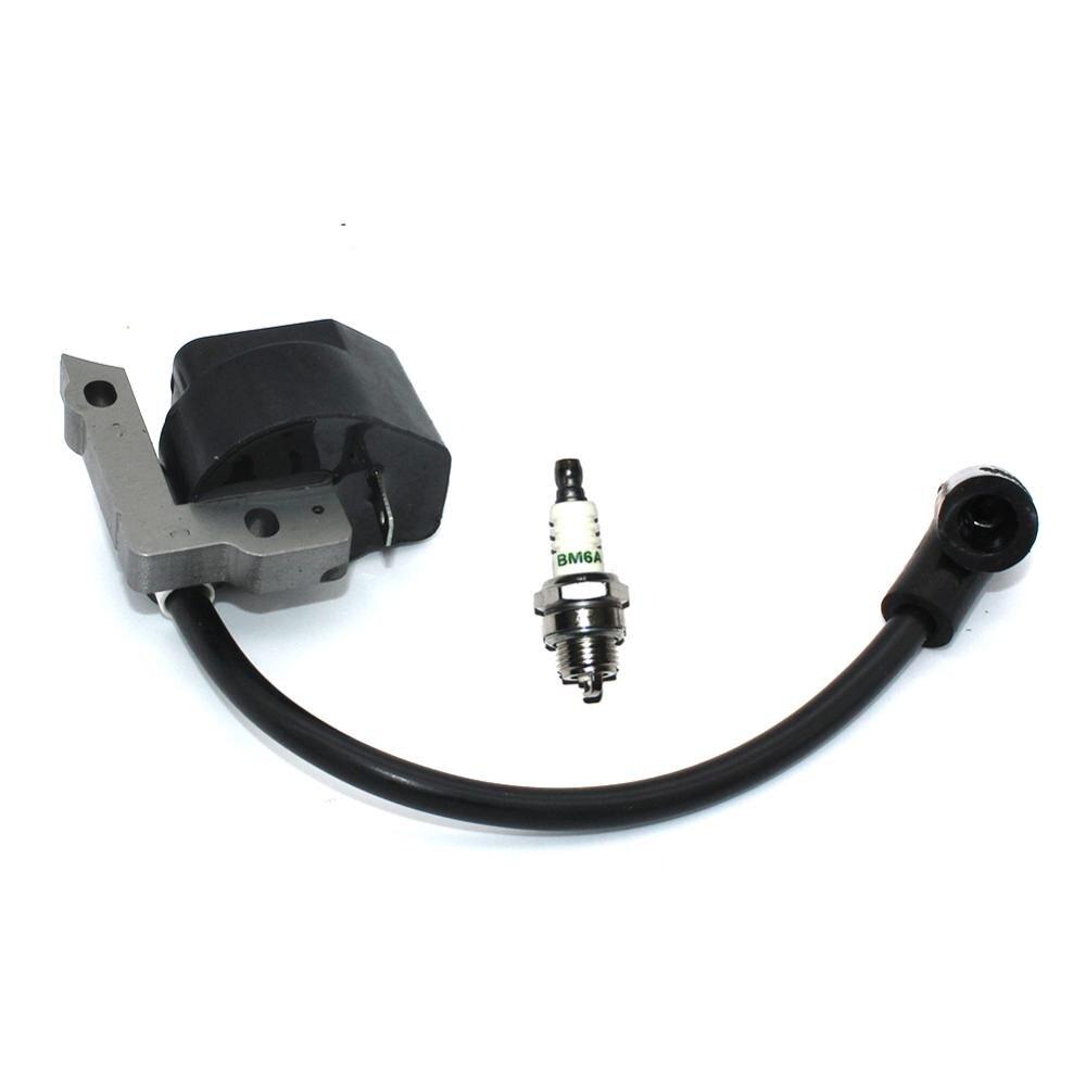 Модуль зажигания с свечей зажигания BM6A для Homelite Ryobi триммер кусторез Hedgetrimmer секатор Edger нагнетатель 850108001 850108002|Детали для электроинструментов|   | АлиЭкспресс