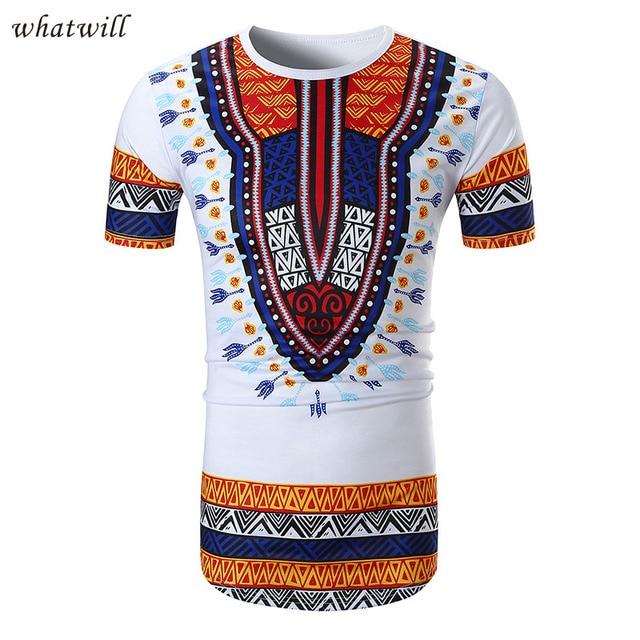 3D impreso África ropa dashiki camiseta Moda Africana vestidos para las  mujeres hombres hip hop d1b29835691