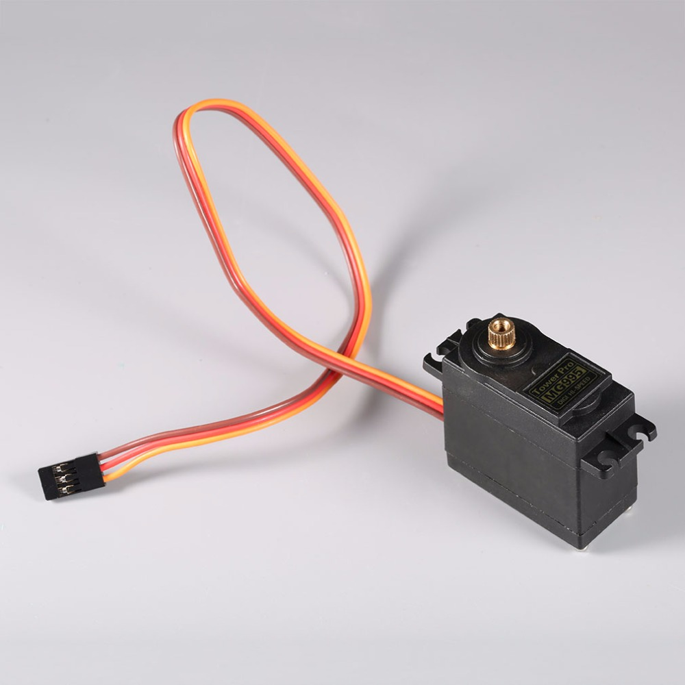 2017 Hot Sale Professional MG995 Metal Material Gear Super High Speed High Torque RC Servo For Helicopter/Car/Boat Black