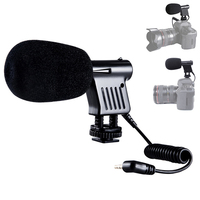 Mini Microphone Interview Broadcast Directional Condenser For DSLR Cameras Camcorder Recording SGA998