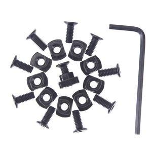 1Set Screw and nut Replacement for MLOK Handguard Rail Sections Hunting