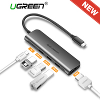 Ugreen USB C HUB USB C To 3 0 HUB HDMI VGA Thunderbolt 3 Adapter For