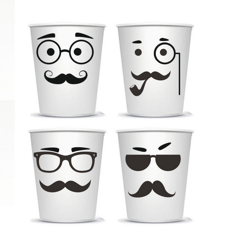 Buy mustache cup free pattern and get free shipping on aliexpress com