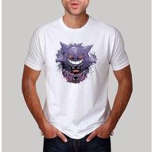 b6aee4291 new arrived fashion mens t-shirt Gengar Evolution Design men t shirt  polyester cool casual tee shirt big size
