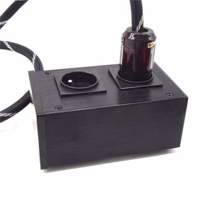 Image 5 - AC8.8 2500W 10A European filter power outlet Advanced Audio Power Purifier Filter AC Power Socket for EU AC Electrical Plug