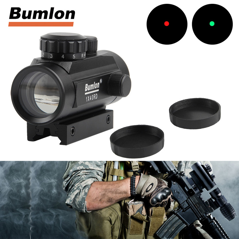 Holographic 1 x 40mm Airsoft Red Green Dot Sight RL5-0013-05