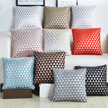 Geometric Hollow Out Pattern Cushion Cover Plush Decorative Throw Pillow Cover Seat Sofa Embrace Cushion Pillow Case Home Decor eye pattern back cushion cover throw pillow case