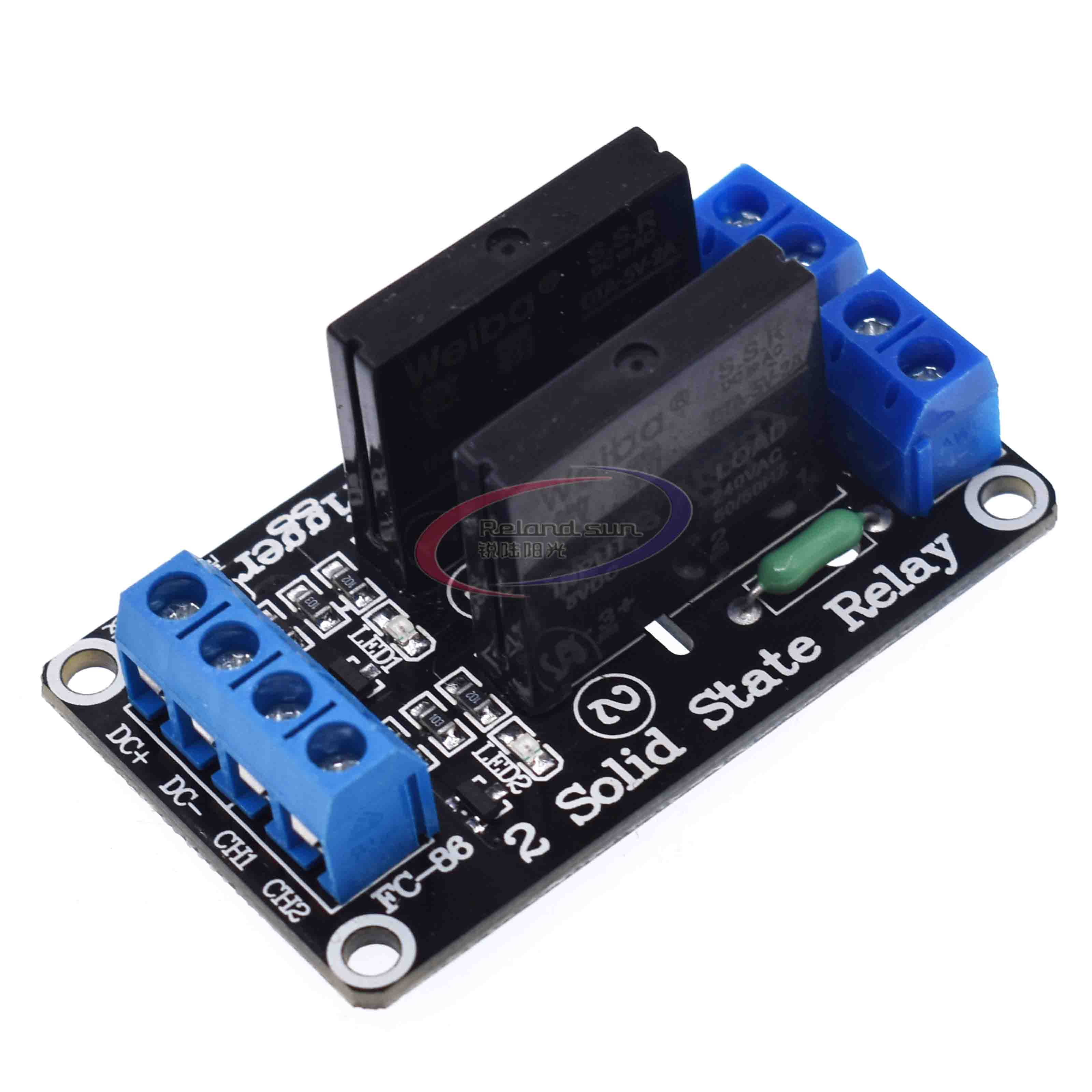 4 Channel 5V OMRON SSR Relais Relay Módulo G3MB-202P Solid State For Arduino