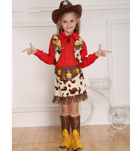girls costumes halloween costumes party costumes for girls performance wear stage wear farm cowgirls costumes novelty cospaly in girls costumes from novelty