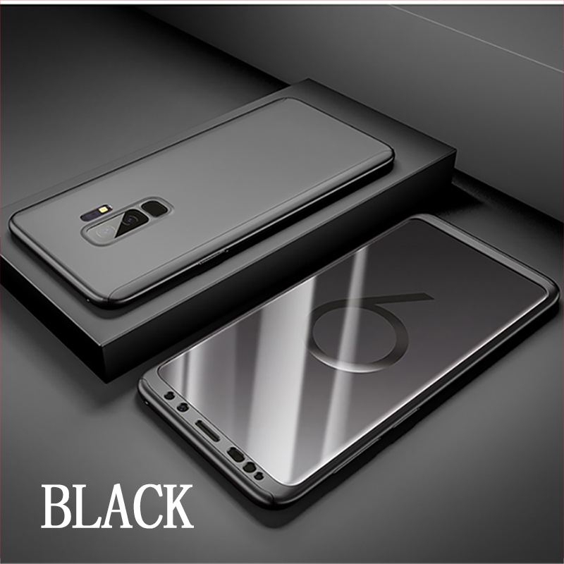 Luxury 360 Degree Cover Phone Case For Samsung Galaxy S9 S8 M10 M20 A30 A50 Cover Cases For Samsung S9 S8 Plus Note 8 9 Case
