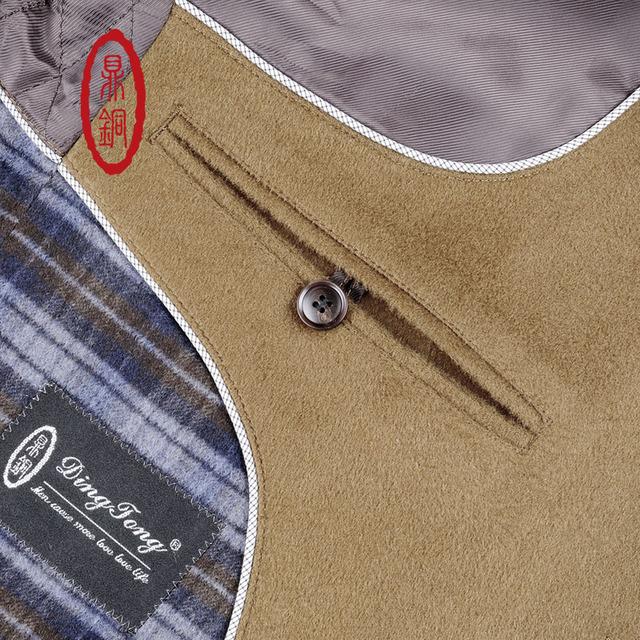 2017 Brand Winter Wool coat long men Slim Fit Overcoat Smart Casual long trench coat mandarin collar men outerwear peas coat