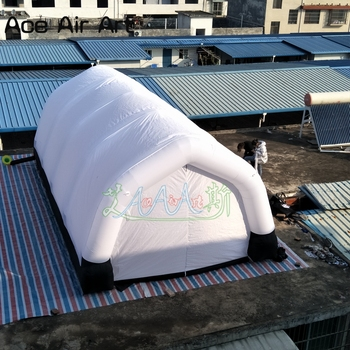 Darmowa wysyłka gigantyczne wesele na świeżym powietrzu na świeżym powietrzu namiot imprezowy tunel dom kabina lakiernicza z zamkiem błyskawicznym drzwi na imprezy tanie i dobre opinie Sport Składany Nadmuchiwane 8 lat Ace Air Art 3A-TR1812191649 oxford Yes as your requirements 210 D oxford fabric with PU coated