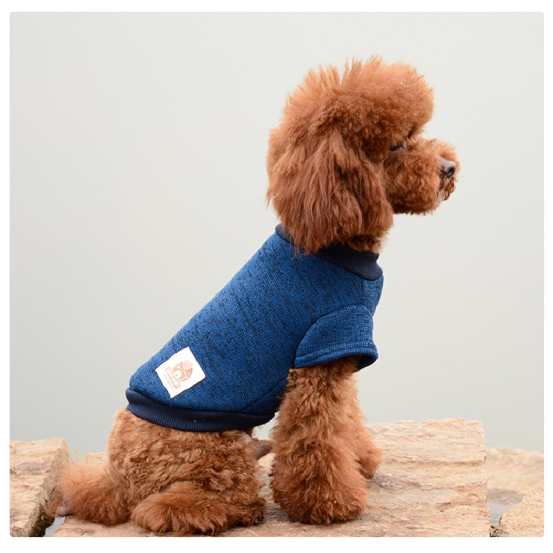 Winter Dog Clothes Warm Dog Coat for Small Dogs Soft Cotton Pet Sweatershirt Yorkies Terrier Chihuahua Dog Clothing