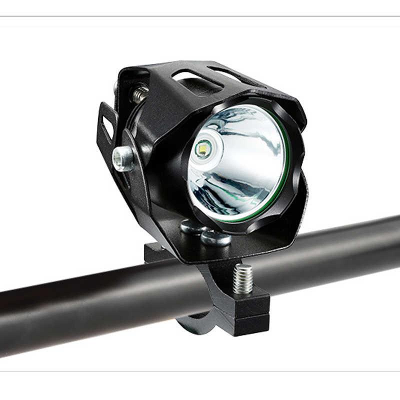 Waterproof E-Bike Headlight XML T6 Led 10W input DC 12V 36V 48V 60V Electric