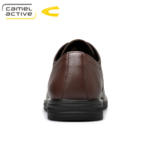 Image 3 - Camel Active 2019 New Men Wedding Black Lace Up Oxford Genuine Leather Shoes Spring/Autumn Party Business Male Dress Brown Shoes
