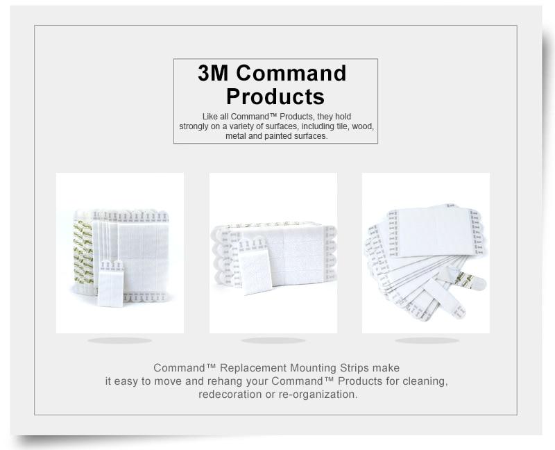 Команды 3 м ленты замок Малый фото Висячие полоски, изображение висит команды без повреждений полосы Большие размеры 9,2 см* 1,9 см