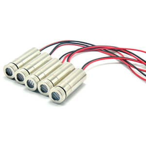 Image 4 - 5pcs 650nm 660nm 10mW Focusable Line Laser Diode Module 3 5V 12mm*30mm