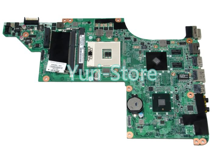 NOKOTION Laptop Motherboard DALX6MB6H1 For HP DV6 DV6-3100 630280-001 Main Board HM55 DDR3 Mobility Radeon HD 5470 nokotion for hp 4720s 598670 001 48 4gk06 011 laptop motherboard mobility radeon hd 5430 mainboard full tested