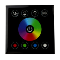 LED Controller RF Touch Panel Remote Control Led Dimmer 12V 24V RGB RGBW DIY Home Mi