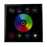 Controlador de LED RF controle remoto do painel de toque Levou Dimmer 12 V 24 V RGB interruptor de Parede de luz para tira conduzida RGBW Mi casa DIY 3528 5050